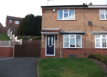 Thumbnail 2 bed semi-detached house for sale in Club Row, Dudley, West Midlands