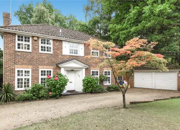 Thumbnail 4 bed detached house for sale in Castle Road, Camberley, Surrey
