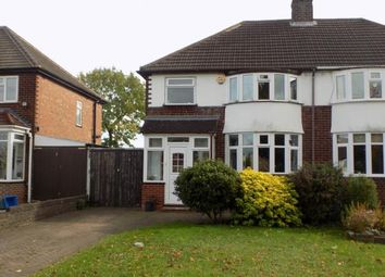 Thumbnail 3 bedroom semi-detached house for sale in Kingswood Drive, Sutton Coldfield, West Midlands, .