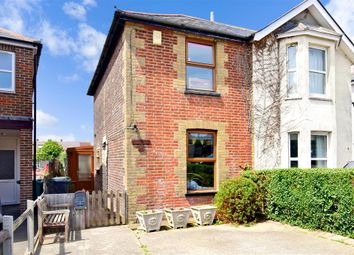 Thumbnail 2 bed semi-detached house for sale in Victoria Crescent, Ryde, Isle Of Wight