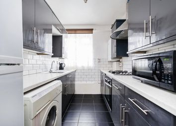 Thumbnail 3 bed flat for sale in Lindley Estate, London