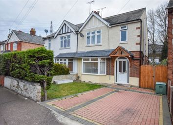 Thumbnail 3 bed semi-detached house for sale in Old Heath Road, Colchester, Essex