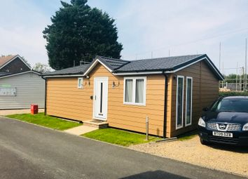 Thumbnail 2 bed lodge for sale in The Osborne Holiday Park, Golden Cross, Hailsham