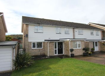 Thumbnail 4 bed semi-detached house to rent in Northcroft, Wooburn Green, High Wycombe