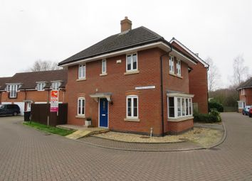 Thumbnail 4 bed detached house for sale in Muirfield Close, Lincoln