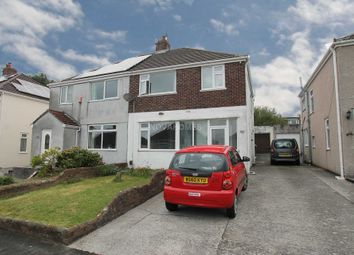 Thumbnail 3 bed semi-detached house for sale in Woodford Avenue, Plympton