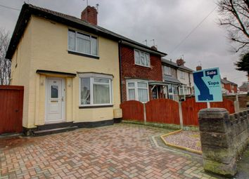 Thumbnail 2 bed semi-detached house for sale in Walton Road, Wednesbury