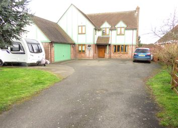 Thumbnail 4 bed detached house for sale in School Lane, Manea, March