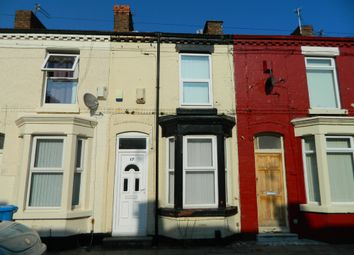 Thumbnail 2 bedroom terraced house to rent in Jesmond Street, Wavertree, Liverpool