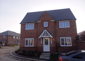 Thumbnail 3 bed detached house to rent in Keepers Close, Glenfield Park, Glenfield