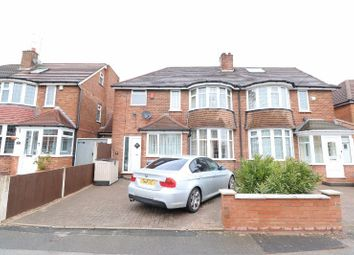 Thumbnail 3 bed semi-detached house for sale in Waddington Avenue, Great Barr, West Midlands