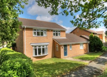 Thumbnail 4 bed detached house for sale in Hickling Court, Meadow Rise, Newcastle Upon Tyne