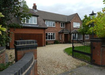 Thumbnail 6 bed detached house to rent in Common Lane, Culcheth, Warrington, Cheshire