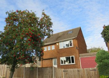 Thumbnail 4 bed detached house for sale in Portreath Drive, Allestree, Derby, Derbyshire