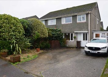 Thumbnail 3 bed semi-detached house for sale in Trefusis Road, Falmouth