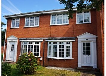 Thumbnail 3 bed terraced house for sale in Westwood Close, Cowes