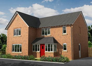 Thumbnail 4 bed detached house for sale in Johnson Hall Park, Eccleshall, Stafford, Staffordshire