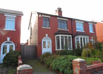 Thumbnail 3 bed semi-detached house for sale in Preston Old Road, Blackpool