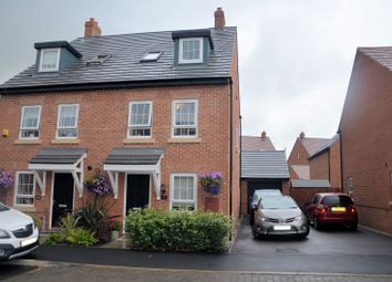 Thumbnail 3 bed property for sale in Holland Crescent, Ashby-De-La-Zouch