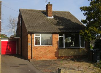 Thumbnail 3 bed detached bungalow for sale in Enderby Rise, Horninglow, Burton-On-Trent