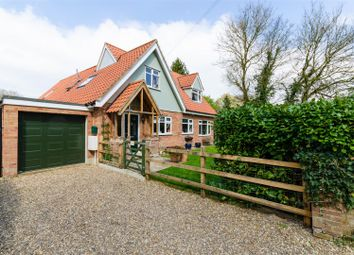 Thumbnail 4 bed detached house for sale in The Common, Hanworth, Norwich