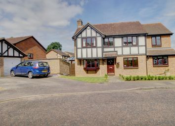 Thumbnail 5 bed detached house for sale in Hamden Way, Papworth Everard, Cambridge