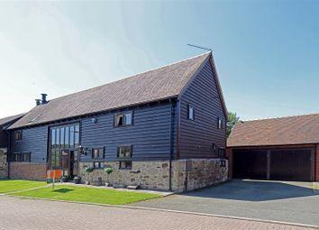 Thumbnail 4 bed barn conversion for sale in Barnyard Close, Westbury, Shrewsbury