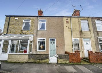 Thumbnail 2 bed terraced house for sale in Chesterfield Road, North Wingfield, Chesterfield, Derbyshire