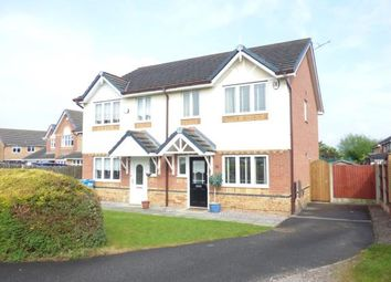 Thumbnail 3 bed semi-detached house for sale in Bermondsey Grove, Widnes, Cheshire