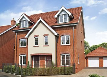 Thumbnail 3 bed semi-detached house for sale in The Sterling, Corunna, Inkerman Lane, Aldershot, Hampshire