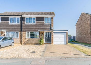 Thumbnail 3 bed semi-detached house for sale in Byron Drive, Newport Pagnell, Milton Keynes