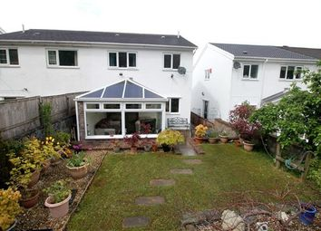 Thumbnail 3 bed semi-detached house for sale in Kensington Drive, Glynfach, Porth