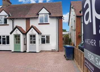 Thumbnail 2 bed end terrace house for sale in New Road, Melbourn, Royston