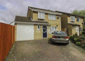 Thumbnail 3 bedroom detached house for sale in Stokesay Court, Longthorpe, Peterborough