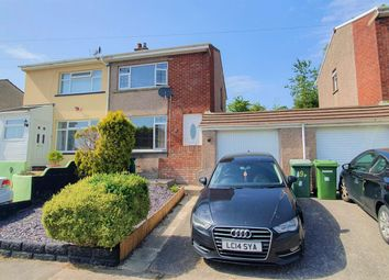 Thumbnail 2 bedroom semi-detached house for sale in Hillcrest, Brynna, Pontyclun
