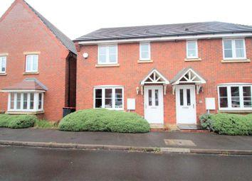 Thumbnail 3 bedroom semi-detached house for sale in Elmwood Road, Arleston, Telford