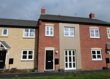Thumbnail 3 bed terraced house to rent in Chepstow Court, Barleythorpe, Oakham
