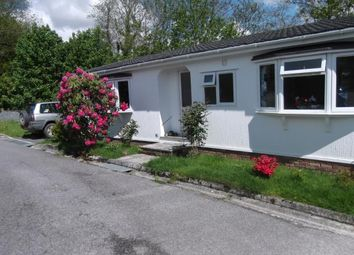 Thumbnail 2 bed mobile/park home for sale in Moorshop, Tavistock