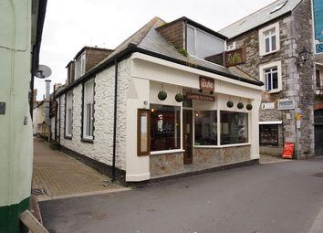 Thumbnail Restaurant/cafe for sale in Buller Street, East Looe, Cornwall