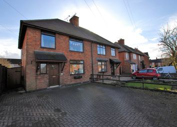 Thumbnail 3 bed semi-detached house for sale in Church Lane, Rocester, Uttoxeter