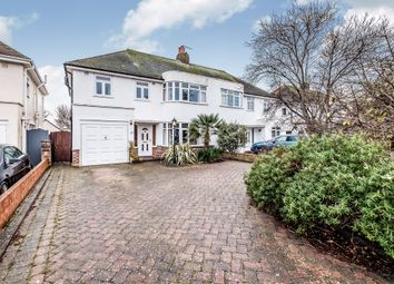 Thumbnail 4 bedroom semi-detached house for sale in Nutley Drive, Goring-By-Sea, Worthing