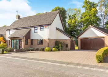 Thumbnail 4 bed detached house for sale in Allens Orchard, Brampton, Huntingdon, Cambridgeshire