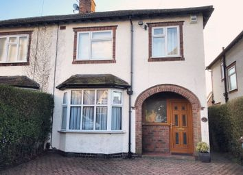 Thumbnail 3 bed semi-detached house for sale in Herrick Road, Loughborough