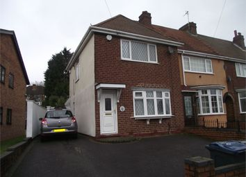 Thumbnail 2 bed end terrace house for sale in Moat Lane, Yardley, Birmingham