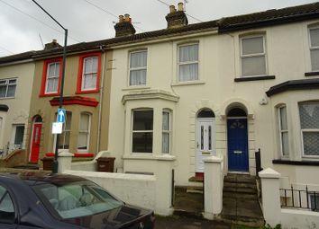 Thumbnail 3 bed terraced house for sale in Copenhagen Road, Gillingham, Kent.