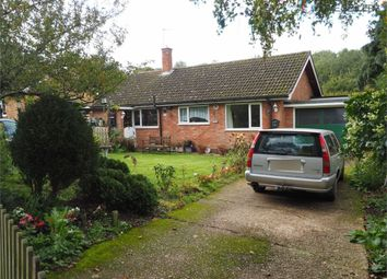 Thumbnail 2 bed detached bungalow for sale in St Marys Close, Flixton, Bungay, Suffolk