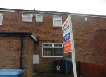 Thumbnail 3 bedroom terraced house to rent in Frampton Close, Hull