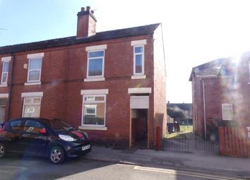 Thumbnail 3 bed end terrace house for sale in Ash Street, Burton-On-Trent, Staffordshire