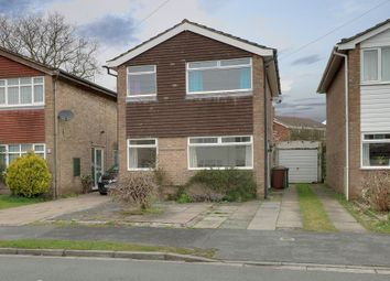 Thumbnail 3 bed detached house for sale in Cranfield Drive, Alsager