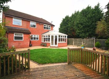 Thumbnail 5 bedroom detached house to rent in Wollescote Drive, Monkspath, Solihull